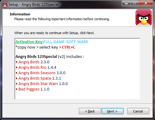 Activation Key For Angry Birds Rio Full Version Download