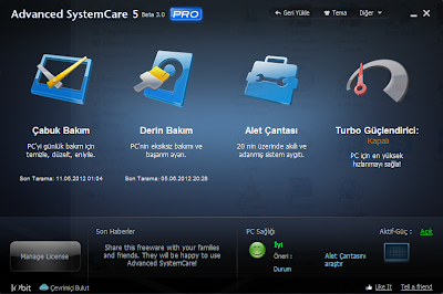 Advanced SystemCare Pro 5.3.0.246 TR