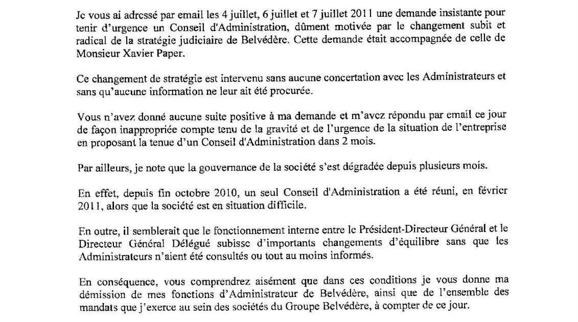 lettre de demission co gerant sarl Les paipites du web, par Deuxtroy: BVD : la lettre de démission d  lettre de demission co gerant sarl