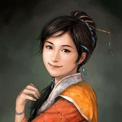 """""""ตู้ฮูหยิน"""" (Lady Du, Du Shi) จากเกมสามก๊ก11"""