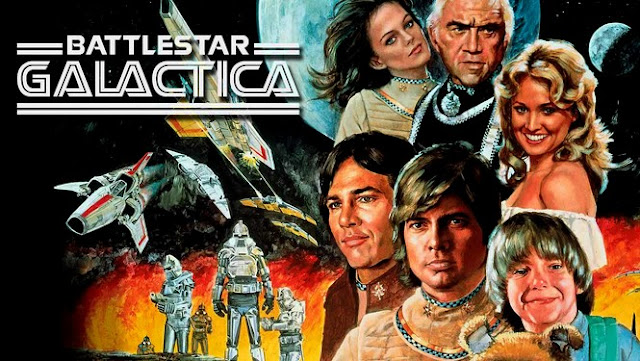 ... do Battlestar Galáctica (1978)