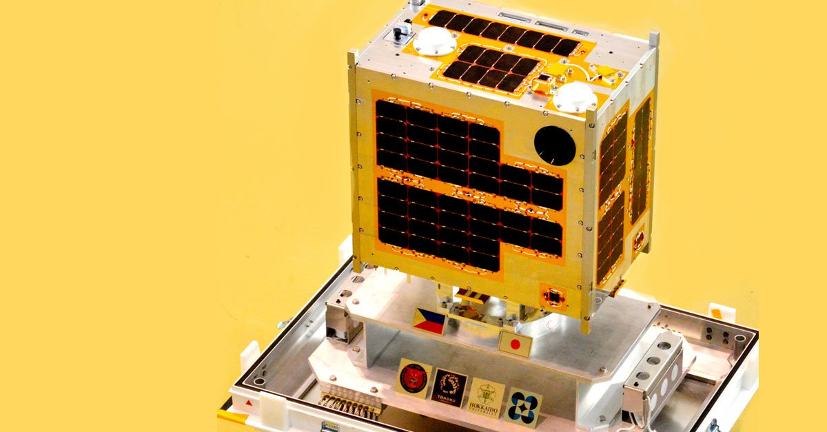 Diwata, first microsatellite built by an all-Filipino team.