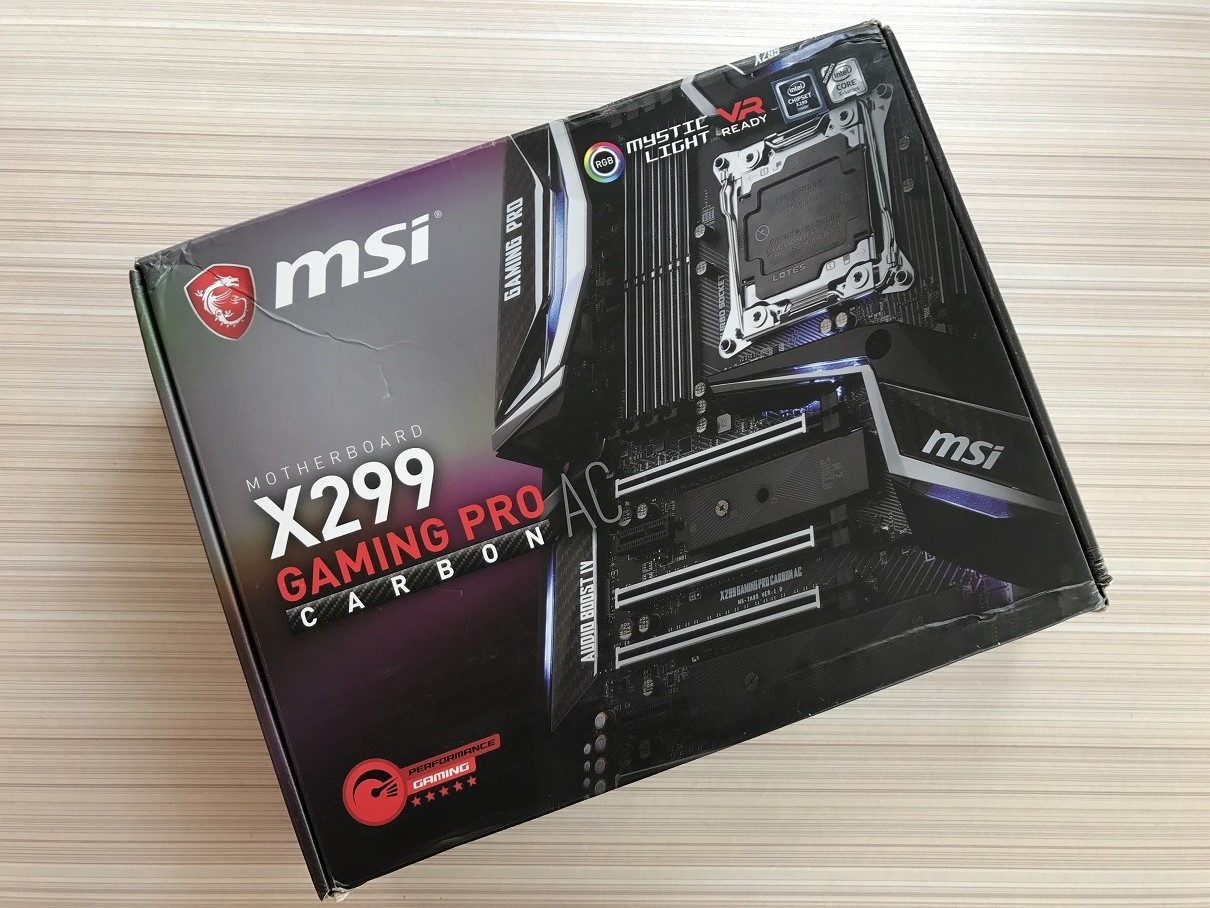 MSI X299 Gaming Pro Carbon AC review ~ Computers and More