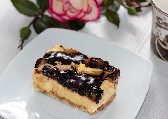 ciasto gruszkowe z czekoladą przepis szybki prosty