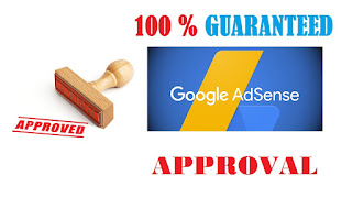 100% Guaranteed Adsense Approval