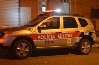 Mulher é assaltada por Desconhecidos e Polícia Militar é acionada