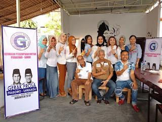 <b>Gerak Prosa NTB Siap Menangkan Prabowo-Sandi</b>