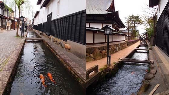 Kejernihan Air Longkang Di Sebuah Kampung Di Jepun Yang Menakjubkan