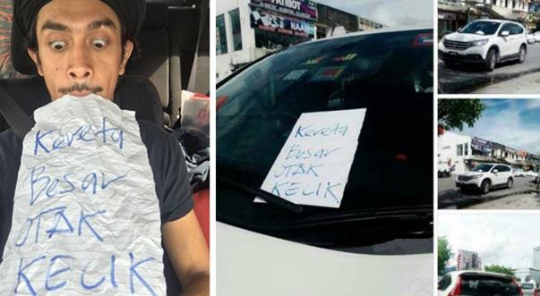 Kereta Halang Jalan, Iqram Dinzly Dikecam 'Kereta Besar Otak Kecik'