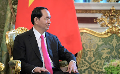 President of Vietnam Tran Dai Quang.