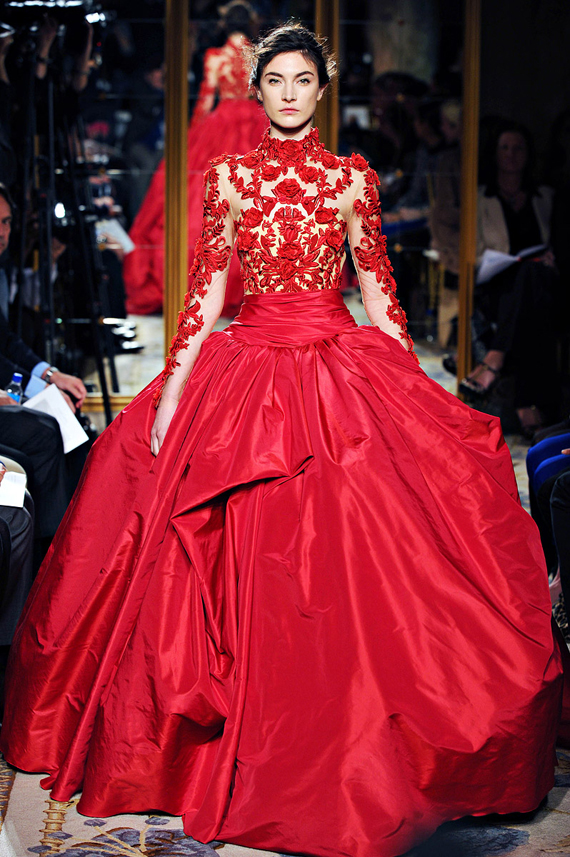 2012 Fall New York Fashion Week Marchesa Marchesa Fall 2012 Marchesa Spring 2012 Collection