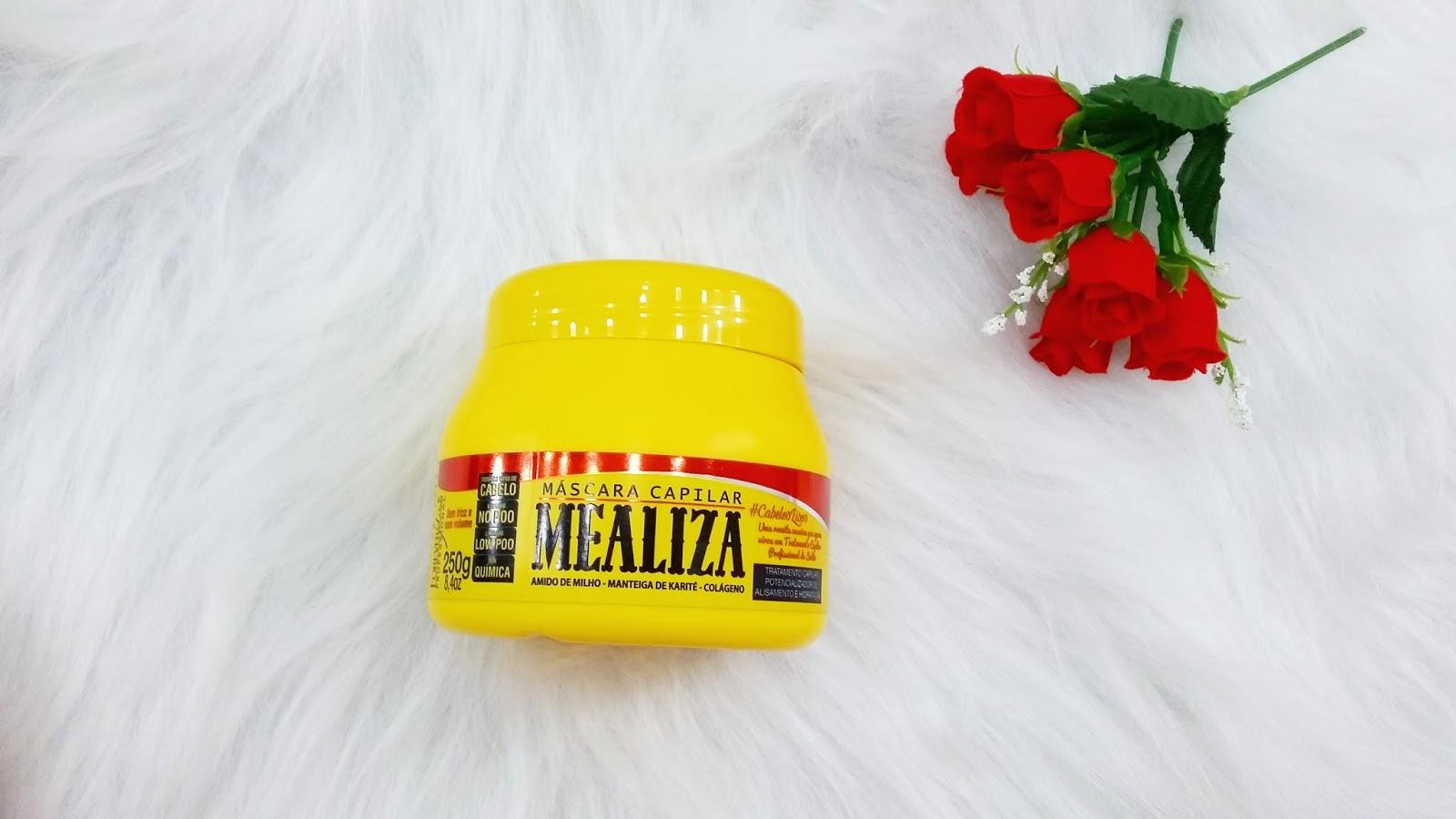 Testei Máscara Maizena Capilar MeAliza - Forever Liss