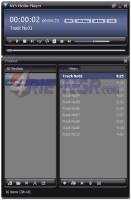 AVS Media Player 4.3.3.117 Final Terbaru