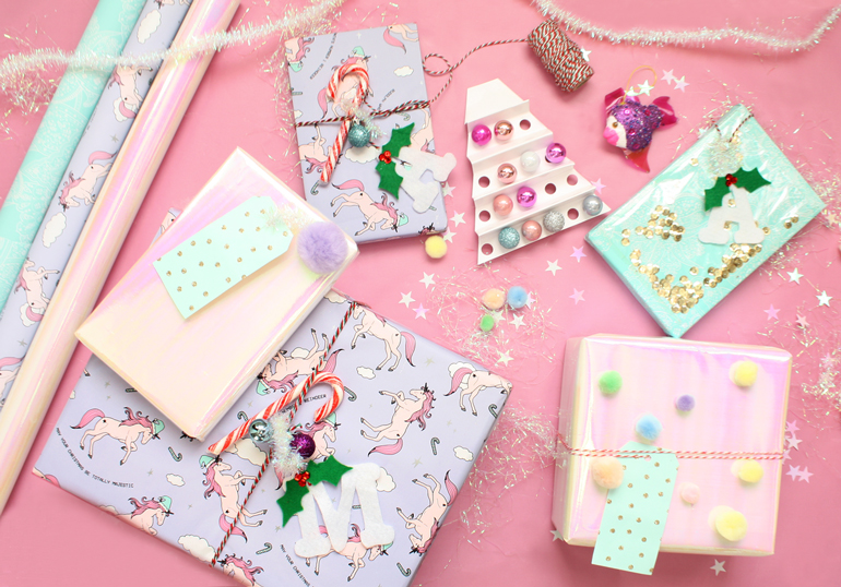 festive creative gift wrapping ideas