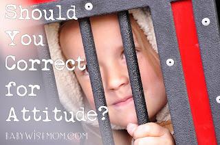 Should You Correct for Attitude