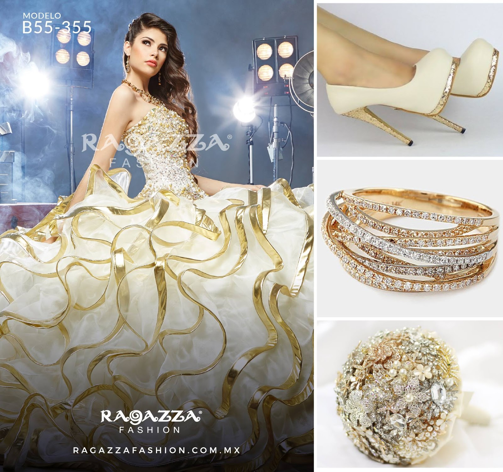 My Quinceaera: -2016 Ragazza Dresses