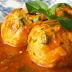 Receita super saudável de almôndegas de frango ao molho de tomates