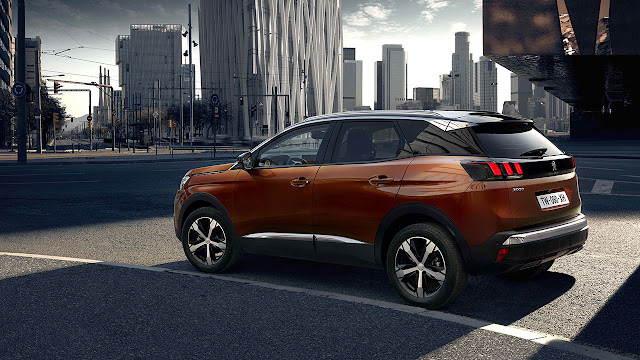The advanced new PEUGEOT 3008 SUV