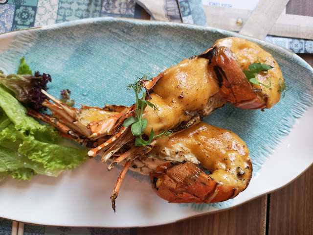 Nonya-style Baked Lobster