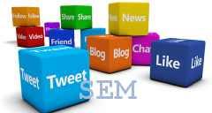 promozione gestione social sem