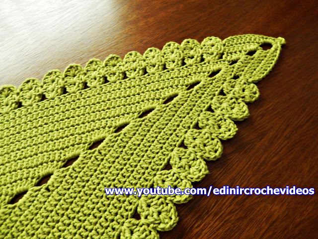 como fazer tapete de croche aprender croche edinircrochevideos cursodecroche