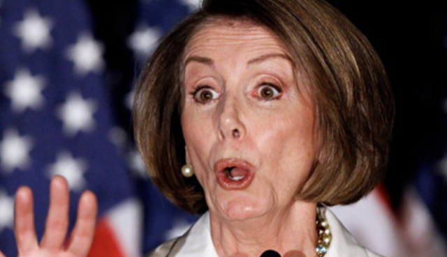 Pelosi gets her swagger on