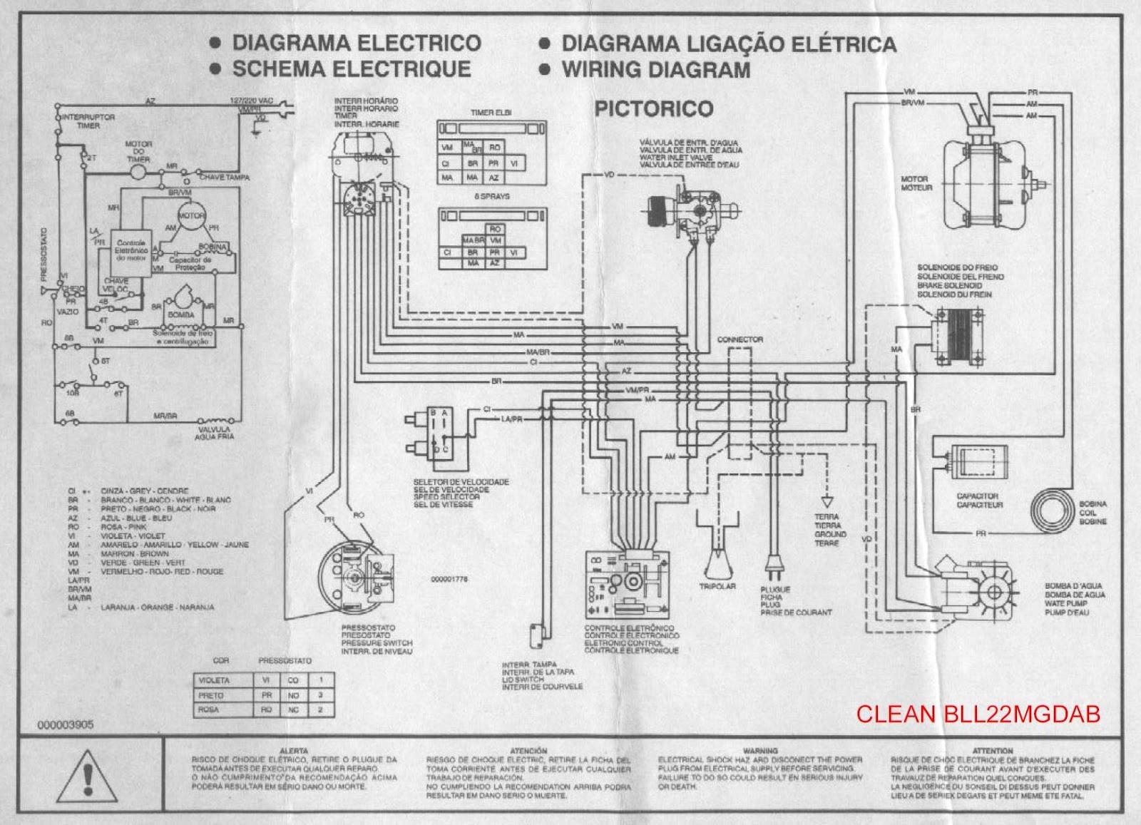 10000 Inverter Wiring Diagram Como Consertar Seu Eletrodom 233 Stico Brastemp Consul E