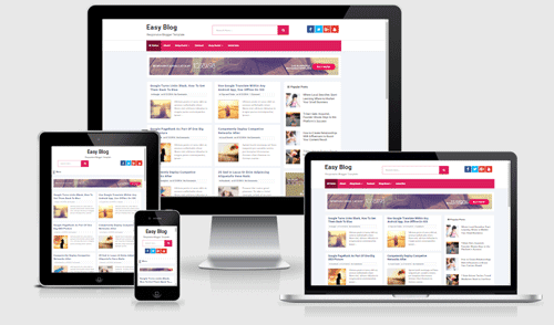 Download Easy Blog Responsive Blogger Template Free