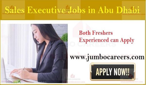 Sales executive jobs in Abu Dhabi, Recent job vacancies in UAE,