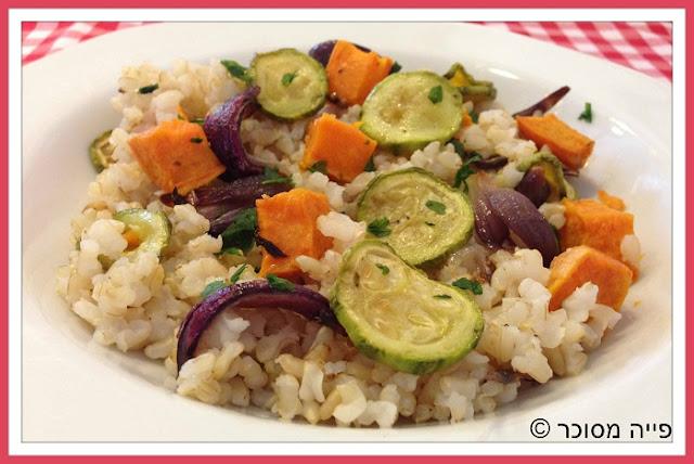אורז אנטיפסטי - צבעוני טעים ויפהפה