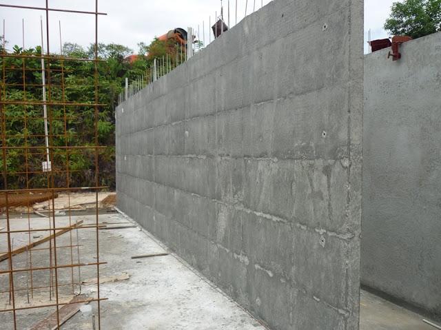 Tường bê tông chịu lực cốt thép 3D