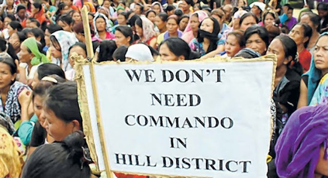 Sadar Hills Gorkhas condemn deployment of Cdos in Sadar Hills
