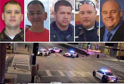 News: 5 Police officers killed by the sniper in Dallas [Photos]