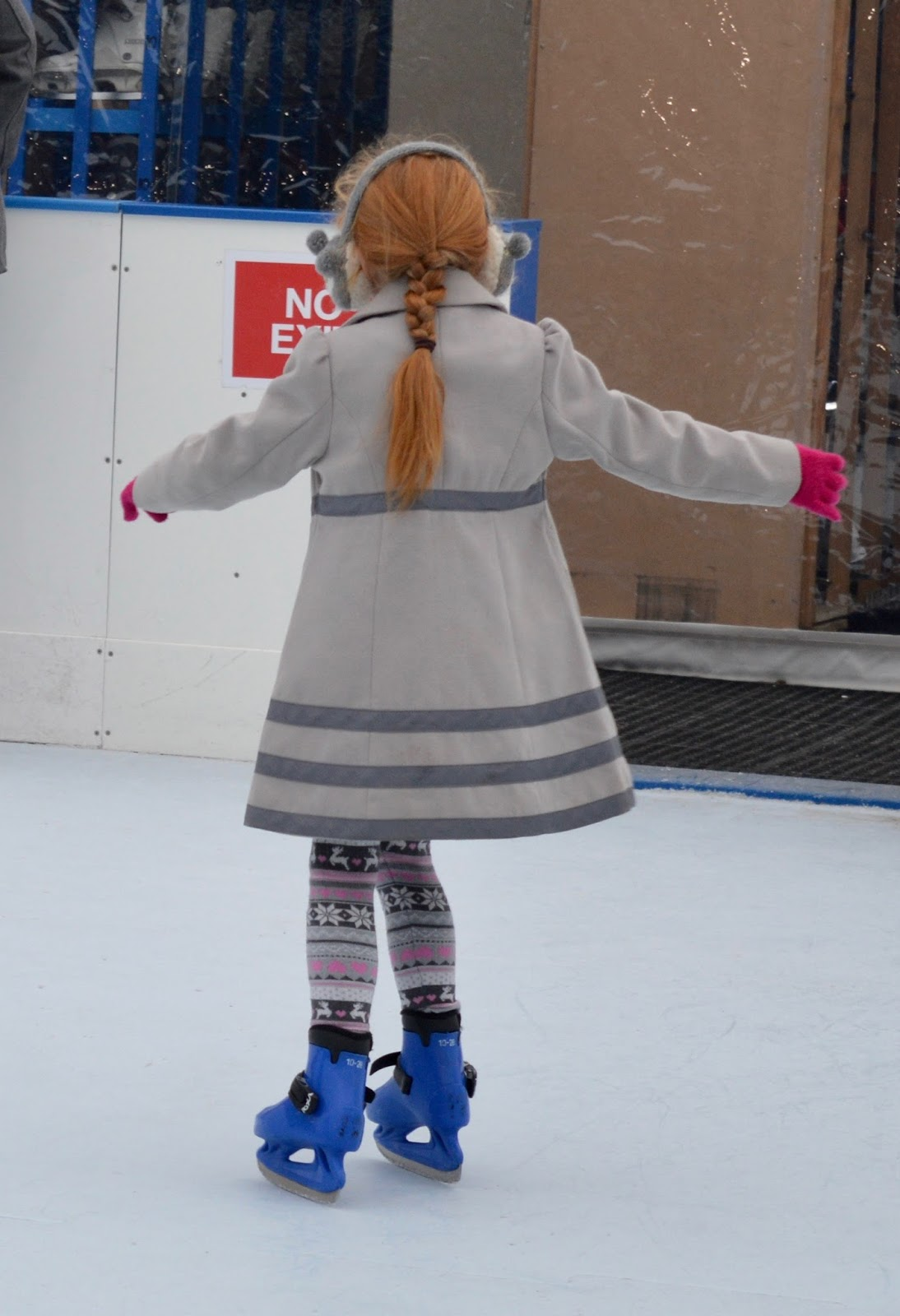 Frost of Forgetfulness | A FREE Winter Trail and activity at Woodhorn Museum in Northumberland (continues until 23rd December) - children's skating