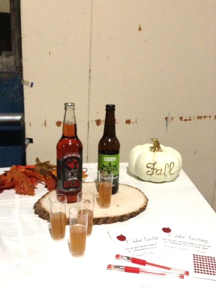 Behind the scenes at a tv station for Friendsgiving segment
