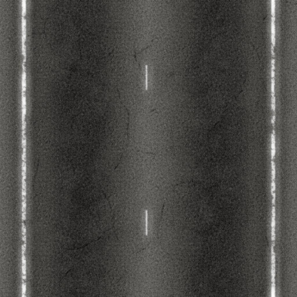 Tileable Cracked Asphalt Road Texture + (Maps)