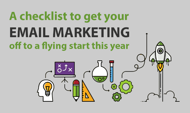 A checklist to get your email marketing off to a flying start this year