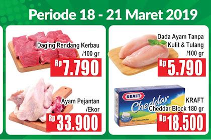 Banner Promo Hypermart Periode 18 - 19 Maret