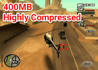 GTA San Andreas Apk + Data Highly Compressed
