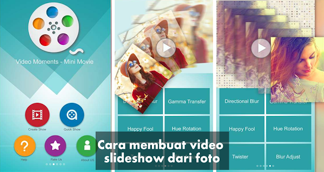 aplikasi untuk membuat video slideshow gratis di Windows  Cara Membuat video Slideshow dari foto di Windows 10