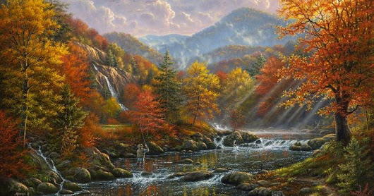 ABRAHAM HUNTER beautiful autumn landscapes !