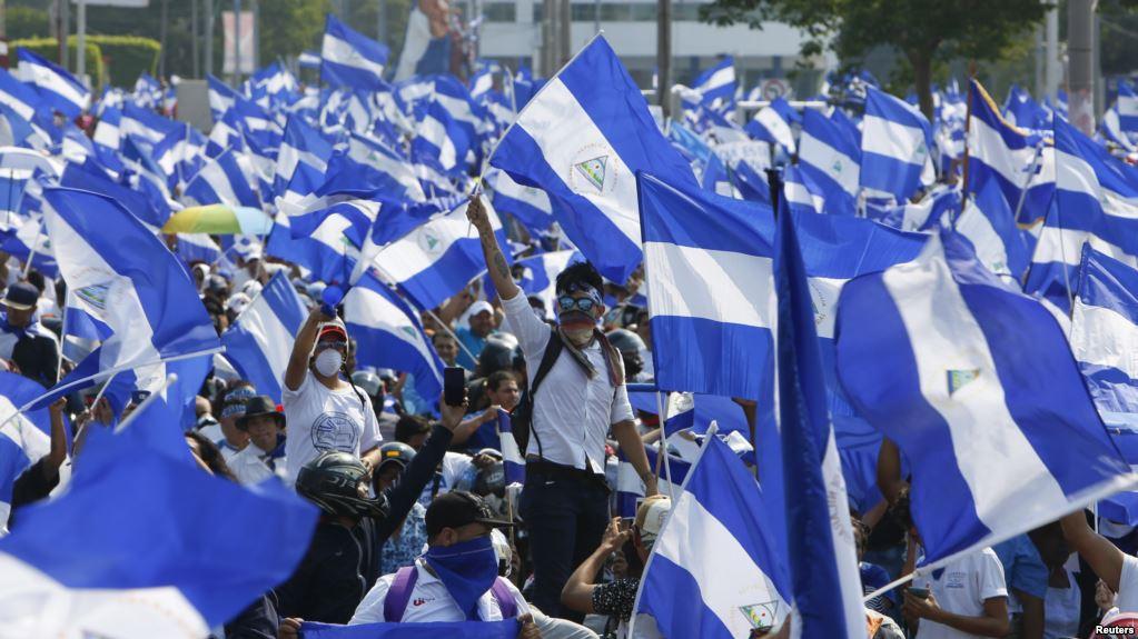 El líder campesino Medardo Mairena, dirigió en zonas rurales las protestas contra Ortega en febrero / REUTERS