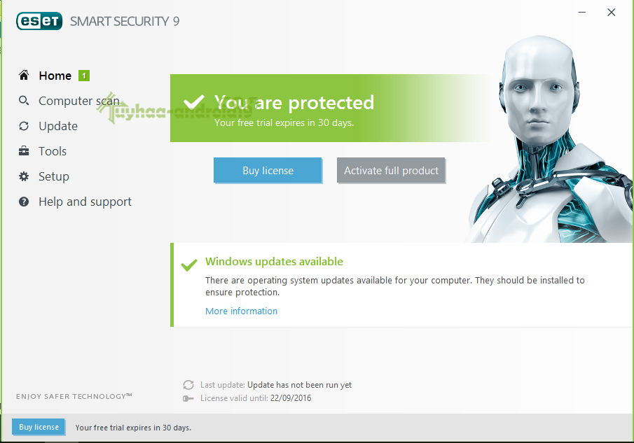 License Eset Node32 & Smart Security Update Terbaru 2017