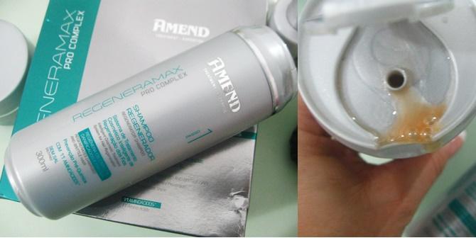 Shampoo Amend Regeneramax Pro Complex