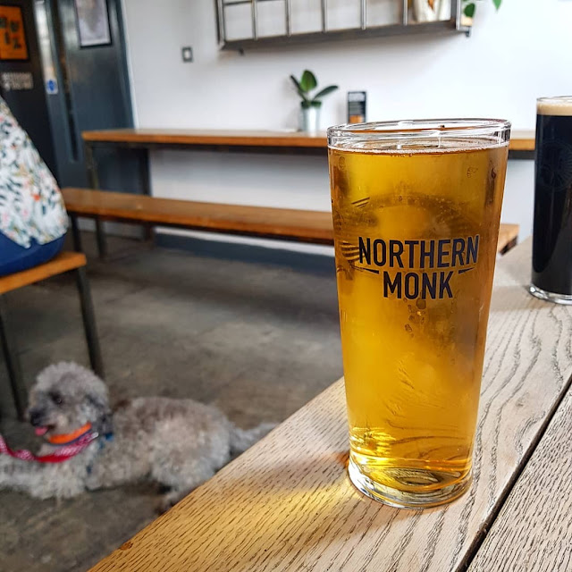 northern monk brewery cider and dogs