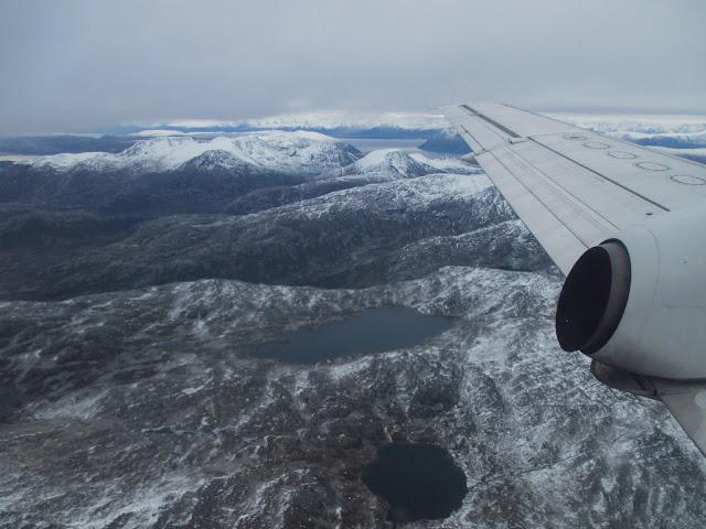 Laskeutuminen, lentokone
