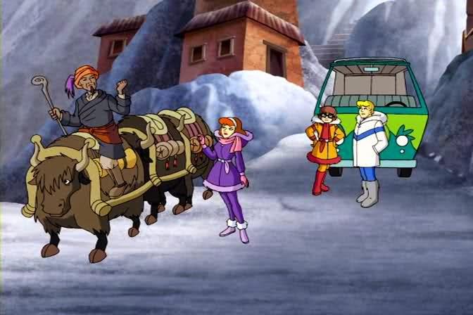 Scooby-Doo o Abominável Homem das Neves
