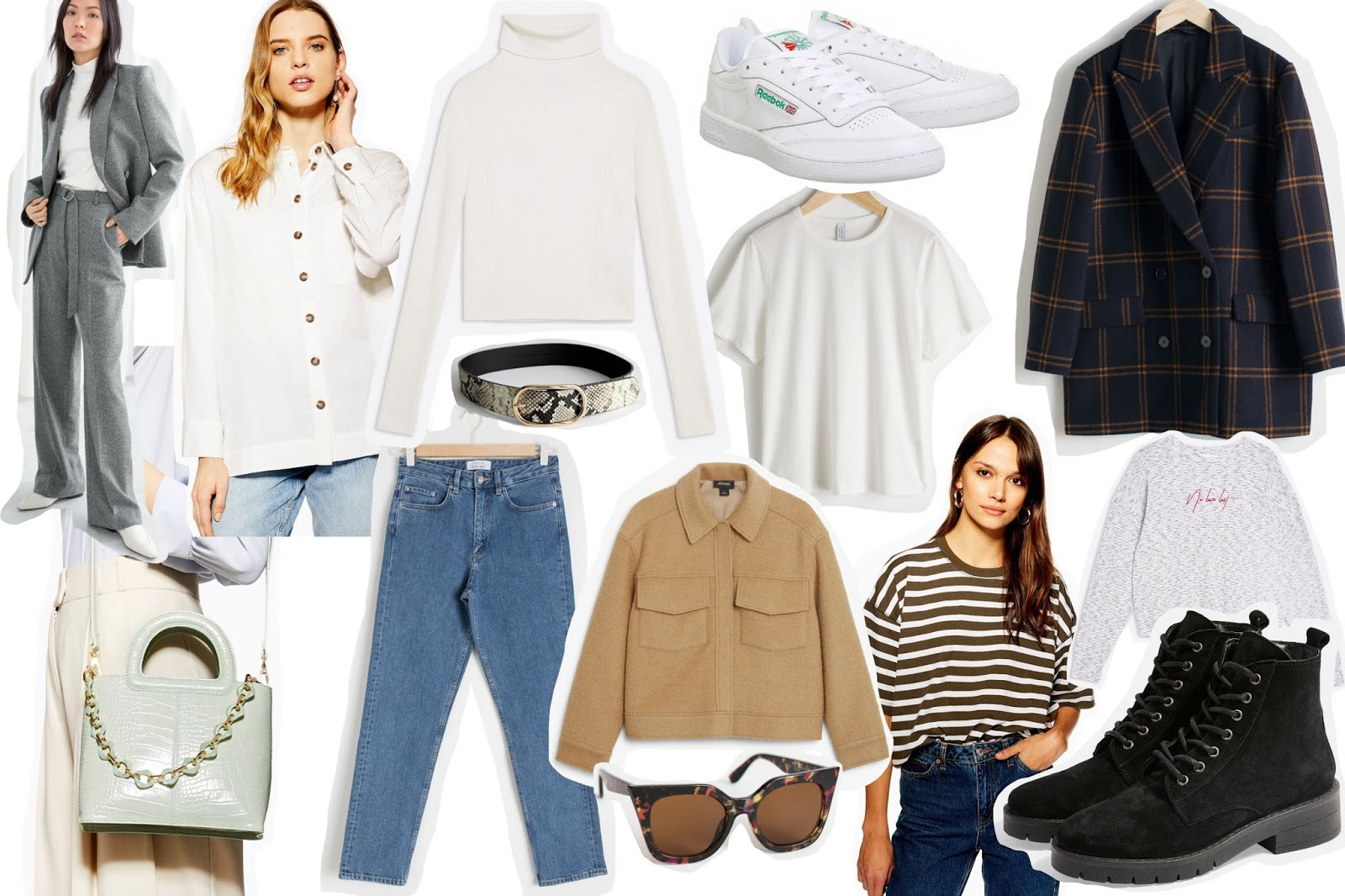 Spring Fashion Style Wishlist Capsule Wardrobe Topshop And Other Stories Monki