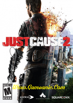 Just Cause 2 Game Cover