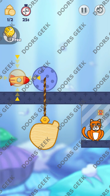 Hello Cats Level 19 Solution, Cheats, Walkthrough 3 Stars for Android and iOS